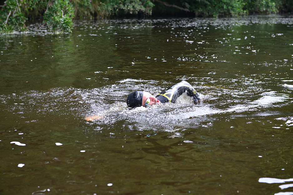Swimming the River Eden