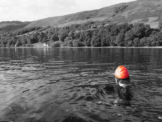 Scottish Highland Loch Broom Swim